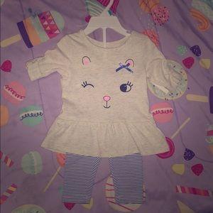 Carter's Girl Toddler Outfit.